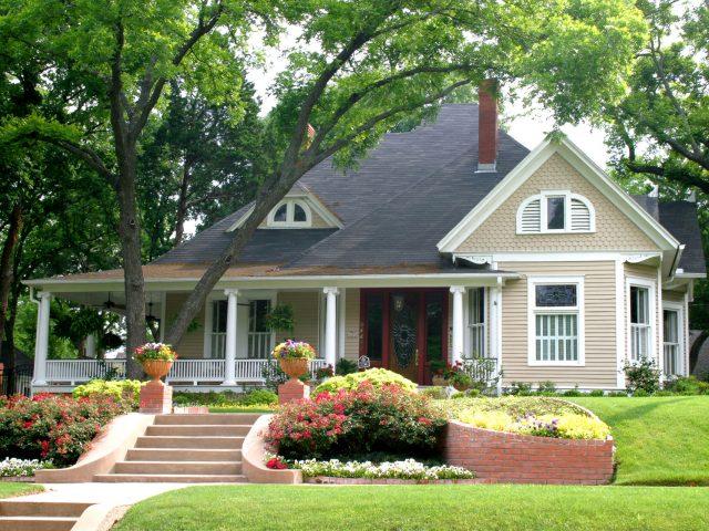 Shaded House